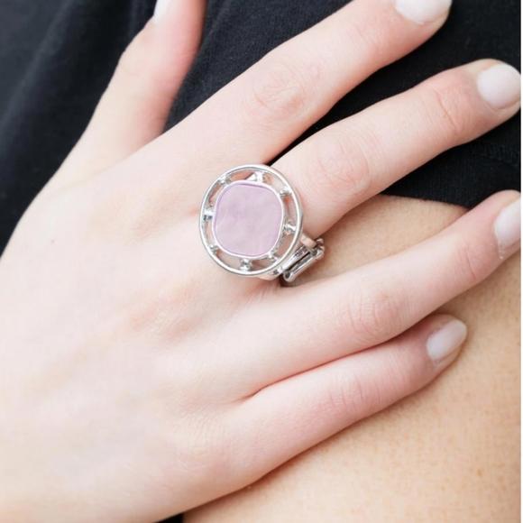 Purple ring paparazzi